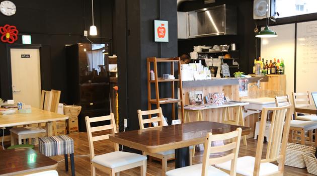 JUSOコワーキングリビングルーム カフェスペース